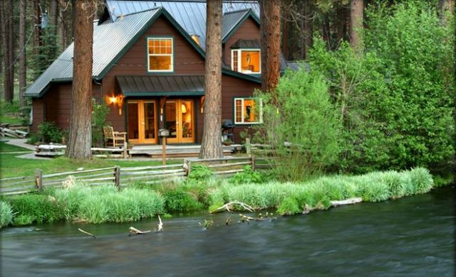 Metolius River Lodges Camp Sherman Oregon